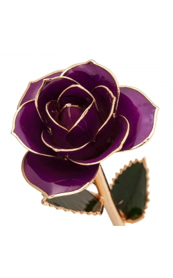 Royal Purple 24K Gold Dipped Rose product image
