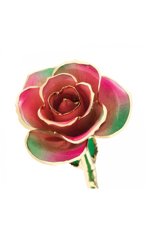 Fairy Forest Pink 24K Gold Dipped Rose product image