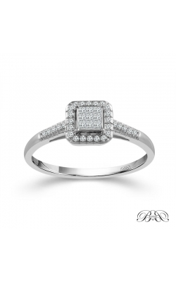 Beautiful Bride 9-Stone Diamond Bridal Set in White Gold, 1/3ctw product image