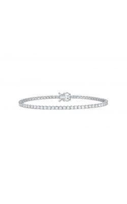 FLASHPOINT CREATED DIAMOND TENNIS BRACELET, 14KWG, 4CTW product image