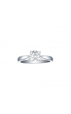 1 CARAT FLASHPOINT CREATED ROUND DIAMOND SOLITAIRE 14KWG, 1CT product image