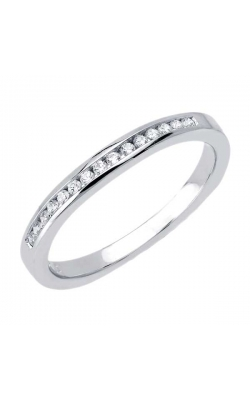 Love Story Diamond Anniversary Band In 14k White Gold, 1/10ctw product image