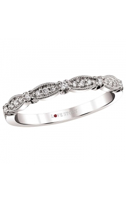 Love Story Diamond Band In 14K White Gold, 1/6ctw product image