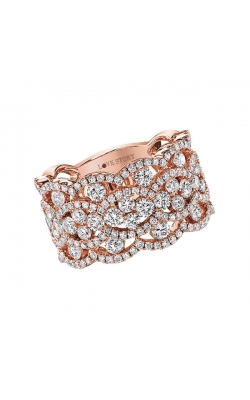 Love Story Multi-Row Diamond Anniversary Band In 14K Rose Gold, 2-1/8ctw product image