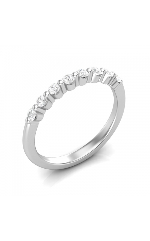 Love Story Eight Diamond Anniversary Band in 14K White Gold, 1/4ctw product image