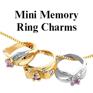 Mini Memory Ring Charms