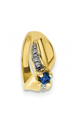September (Sapphire) Mini Memory Ring Charm (Girl/Yellow Gold) product image