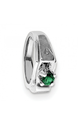 May (Emerald) Mini Memory Ring Charm (Boy/White Gold) product image