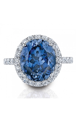 LORELEI Blue And White Sapphire Ring In Sterling Silver product image