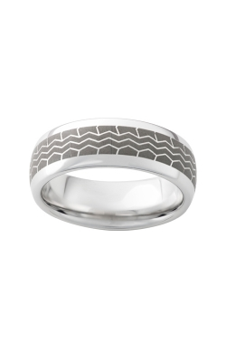 Men's 8mm Serinium Tire Tread Band product image