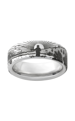 Men's 8mm Serinium Fisherman Band product image
