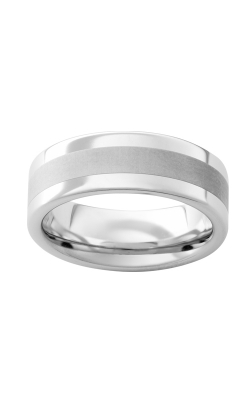 Men's 8mm Serinium And Satin Band product image