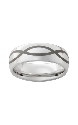 Men's 8mm Serinium Infinity Band product image