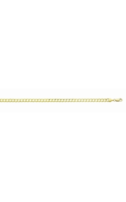 Men's 14k Yellow Gold 5.9mm Curb Chain Necklace, 22 Inch product image