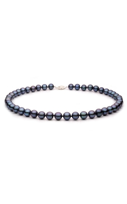 Freshwater Black Pearl Strand Necklace, 18 Inch product image