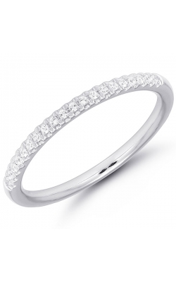 Diamond Anniversary Band In White Gold, 1/10ctw product image