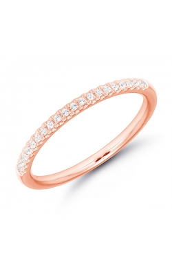 Diamond Anniversary Band In Rose Gold, 1/10ctw product image