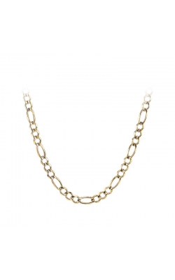 Men's 10k Yellow Gold 7.2mm Figaro Chain Necklace, 22 Inch product image