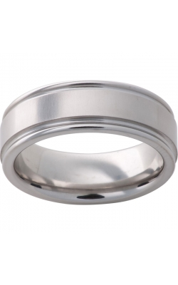 Men's Serinium Cross Satin Band, 8mm product image