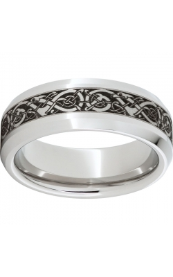 Men's Serinium Viking Band, 8mm product image