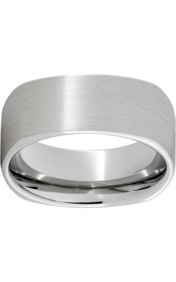 Men's Serinium Square Satin Finish Band, 9mm product image