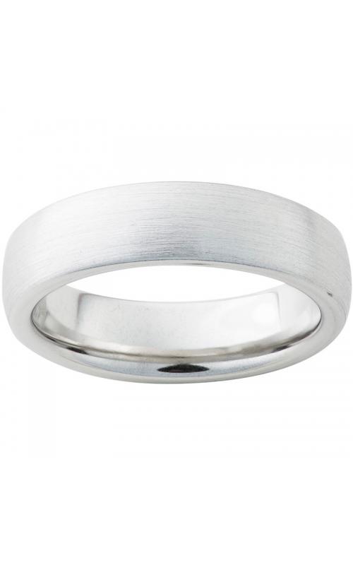 Men's Serinium Satin Finish Domed Band, 6mm product image