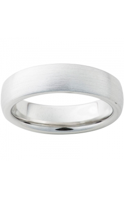 Men's Serinium Satin Finish Domed Band, 6mm product image