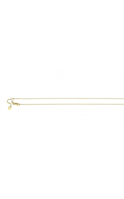 .88mm Adjustable Box Chain Necklace in 14K Yellow Gold - 26 Inch product image