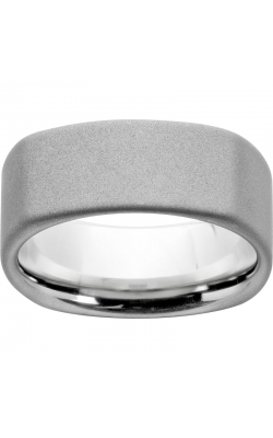Men's Serinium Square Sandblast Band, 9mm product image
