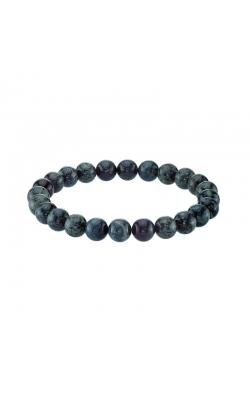 Men's Green Tiger Eye Bead Bracelet product image