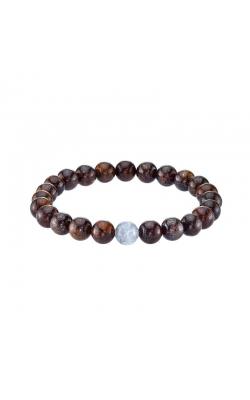Men's Bronzite And Labrodorite Bead Bracelet product image