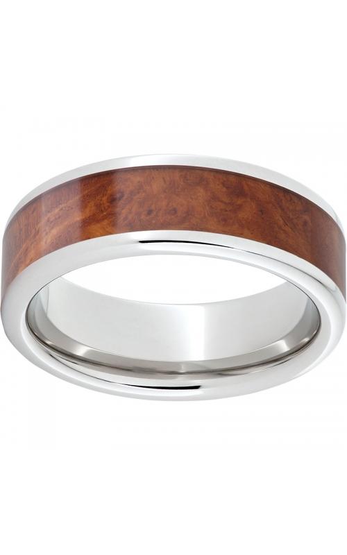 Men's Serinium Burl Wood Band, 8mm product image