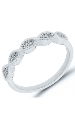 Composite Diamond Marquise Ring In White Gold, 1/20ctw product image