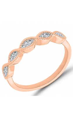 Composite Diamond Marquise Ring In Rose Gold, 1/20ctw product image