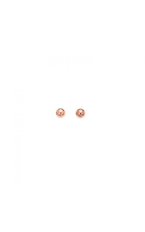 5mm Ball Stud Earrings in 14K Rose Gold product image