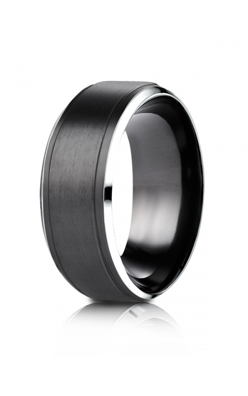 Men's 9mm Black Cobalt Band product image