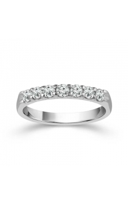 Round Brilliant Diamond Anniversary Band In 14K White Gold, 1ctw product image