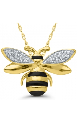 Honey Bee Pendant In Sterling Silver product image