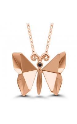 Origami Butterfly Necklace in Sterling Silver product image