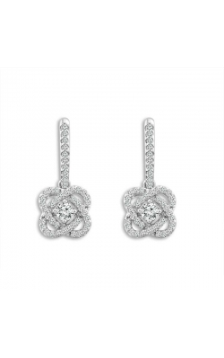 Only You Diamond Earrings in 14K White Gold, 1/4ctw product image