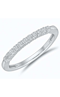 Diamond Anniversary Band In 14K White Gold, 1/4ctw product image
