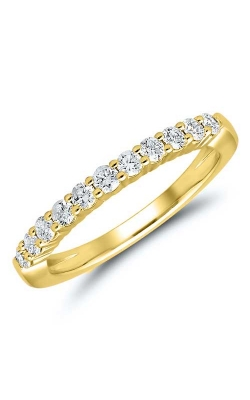 Diamond Anniversary Band In 14K Yellow Gold, 1/2ctw product image