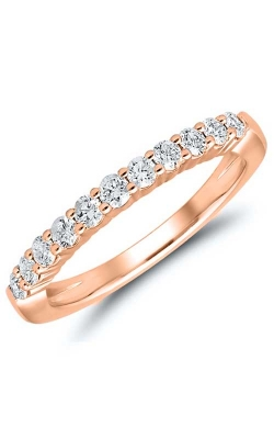 Diamond Anniversary Band In 14K Rose Gold, 1ctw product image