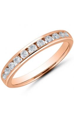 Channel Set Diamond Anniversary Band In 14K Rose Gold, 1/2ctw product image