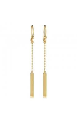 Drop Bar Earrings in 14K Yellow Gold product image
