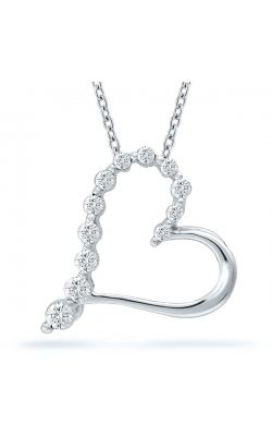 Diamond Journey Heart Pendant product image