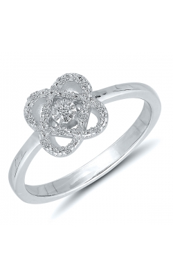 Only You Miracle Diamond Ring in Sterling Silver, 1/20ctw product image