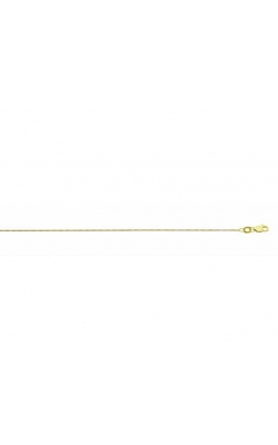.7mm Box Chain Necklace in 14k Yellow Gold, 18 Inch product image