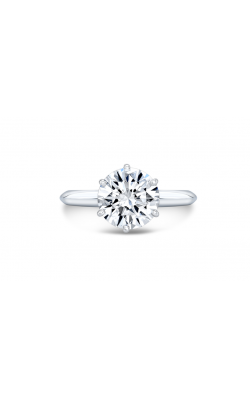 1 Carat Round Brilliant Diamond Solitaire Engagement Ring in 14K White Gold product image