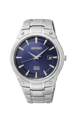 Seiko Men's Stainless Steel Solar Watch - SNE323 product image